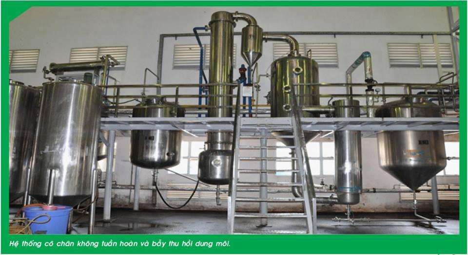 Công nghệ sản xuất cao khô bằng sấy phun sương hiện đại nhất Việt Nam(1)