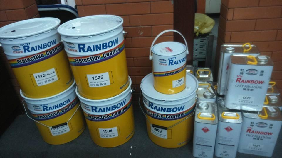 Mua sơn chịu nhiệt Rainbow 200 độ C màu 46 giá rẻ nhất