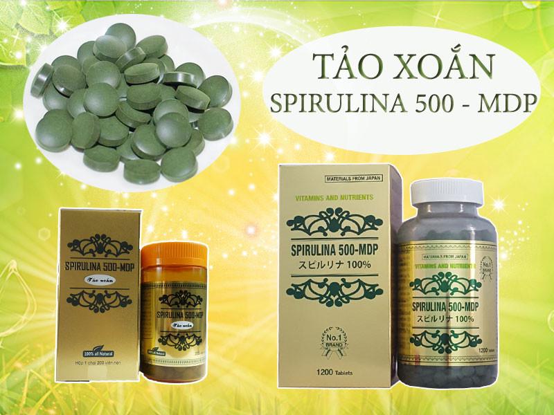 Chăm sóc sức khỏe mỗi ngày với viên tảo xoắn Spirulina 500(3)