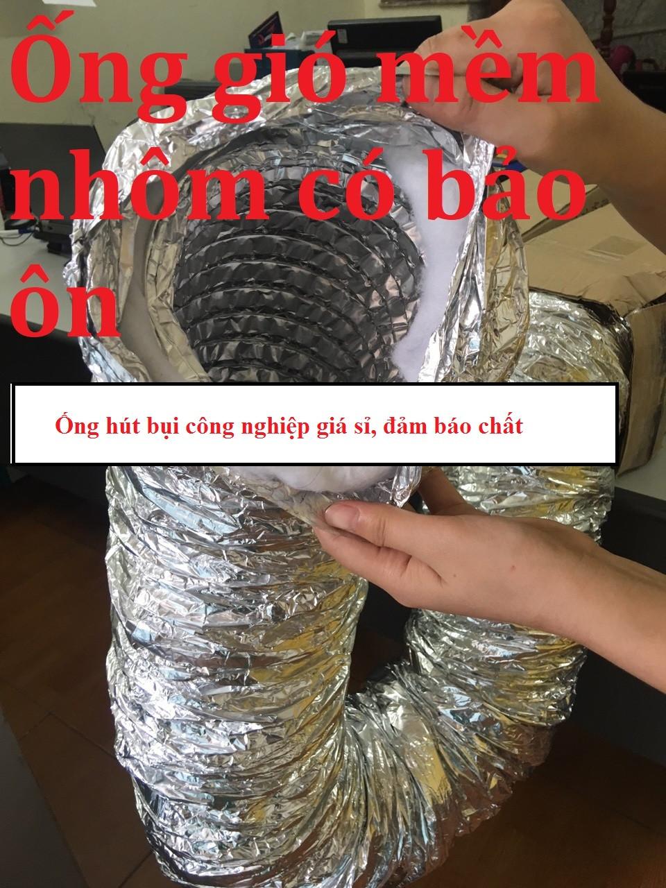 Kinh doanh ống hút bụi công nghiệp, ống hút khí nóng, ống thông gió, ống hút bụi gân nhựa