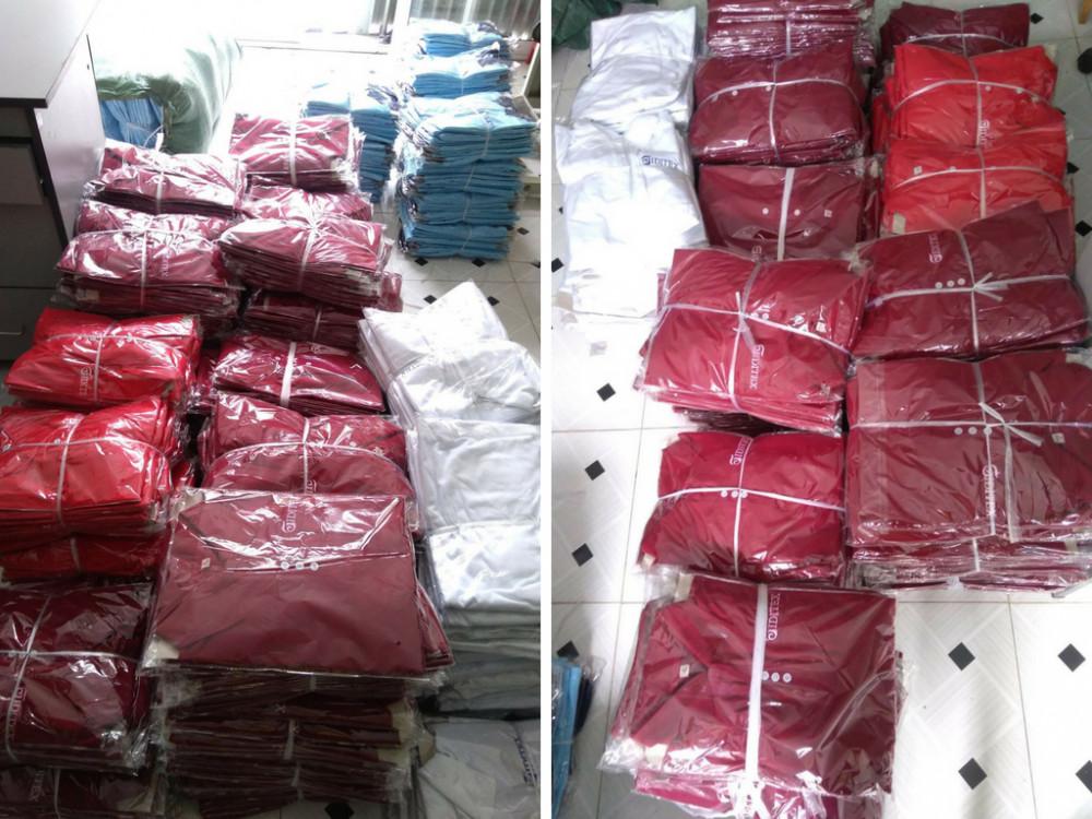 Xưởng may Trang Trần - nhận may áo thun đồng phục mọi số lượng trên toàn quốc