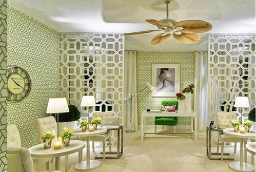 Vách ngăn hoa văn - Vách gỗ cnc trang trí nội thất đẹp 2018
