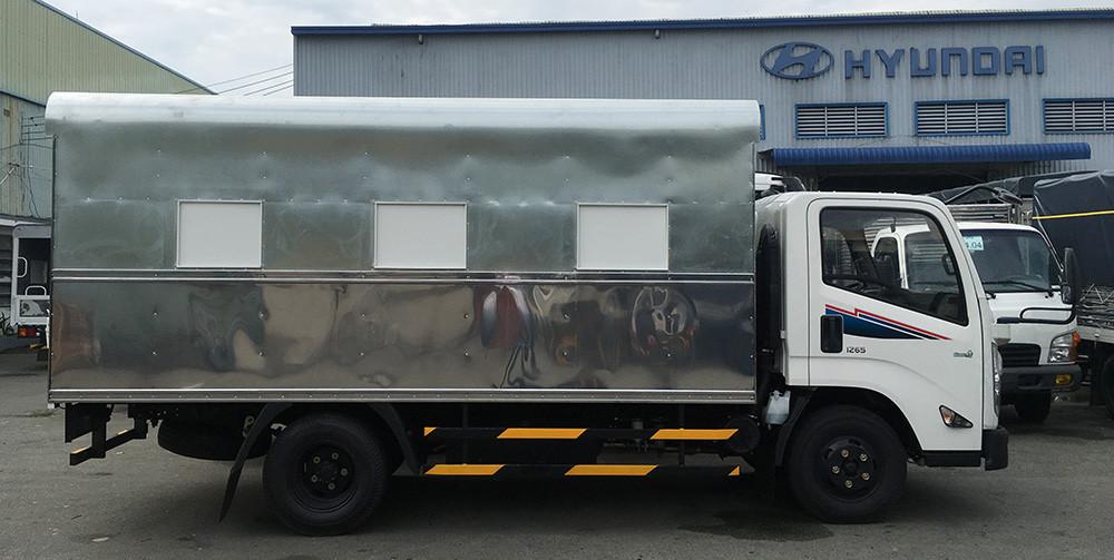 Xe tập lái IZ65, thùng chuyên dụng cho trường lái