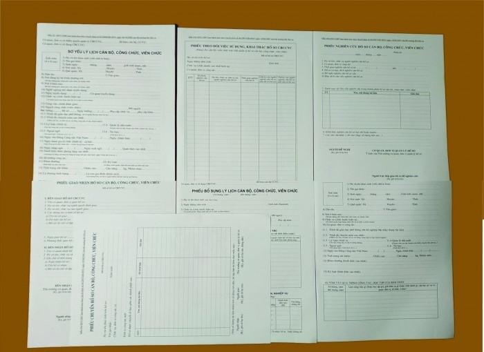 Cách ghi phiếu bổ sung lý lịch cán bộ công chức