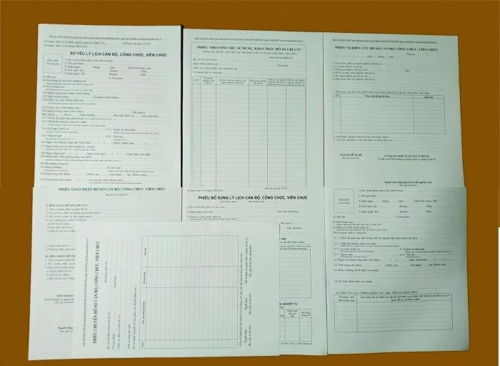 Hướng dẫn viết sơ yếu lý lịch công chức mẫu 2a
