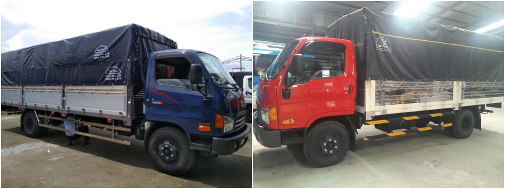 So sánh xe tải HD120SL và HD99