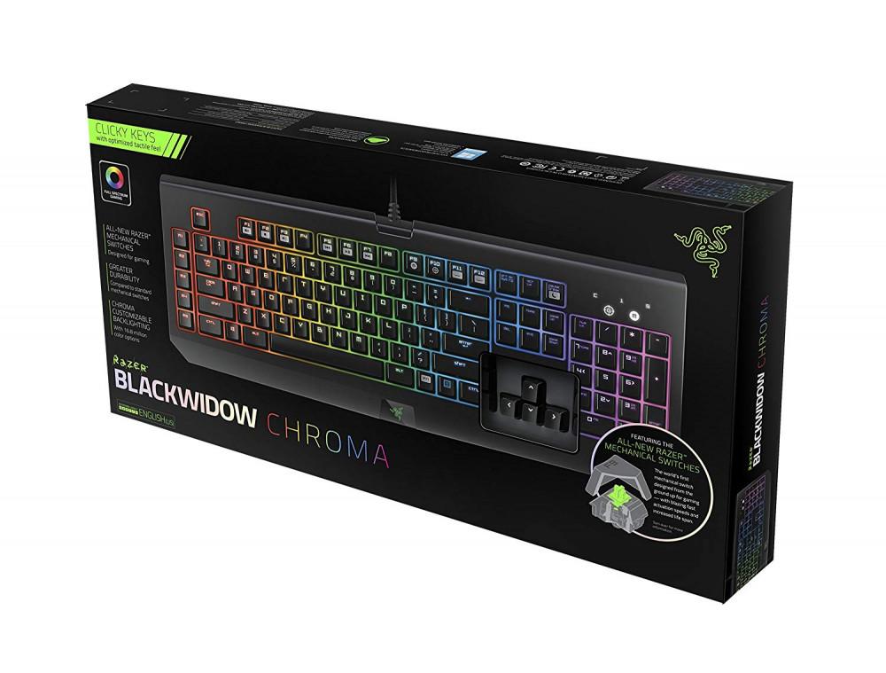 Phím cơ Razer BlackWidow Chroma - RGB -  Lựa chọn giá rẻ cho Game thủ
