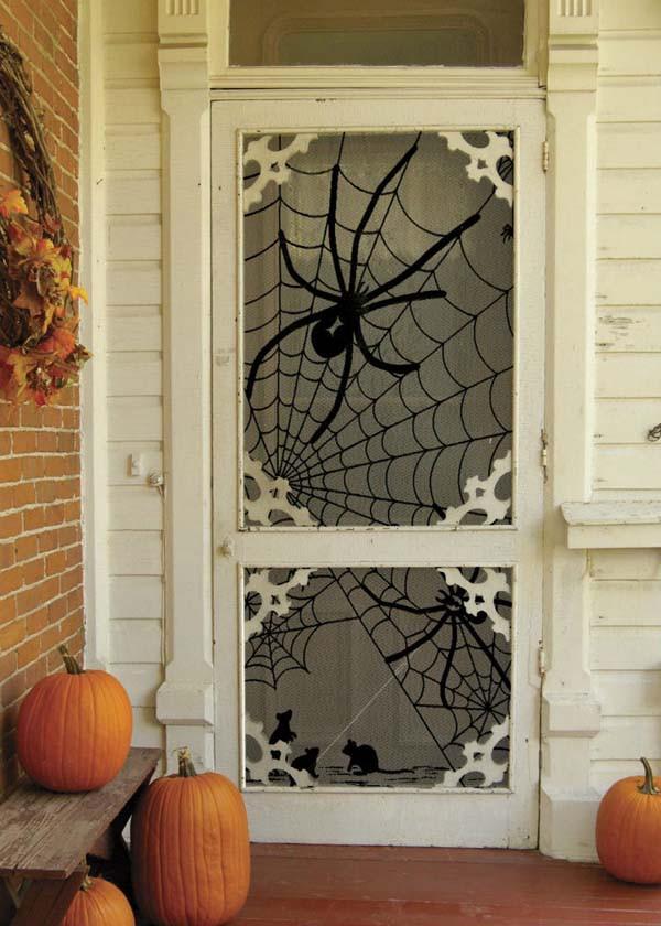 Ấn tượng những mẫu decal trang trí nhà ấn tượng ngày Halloween 6