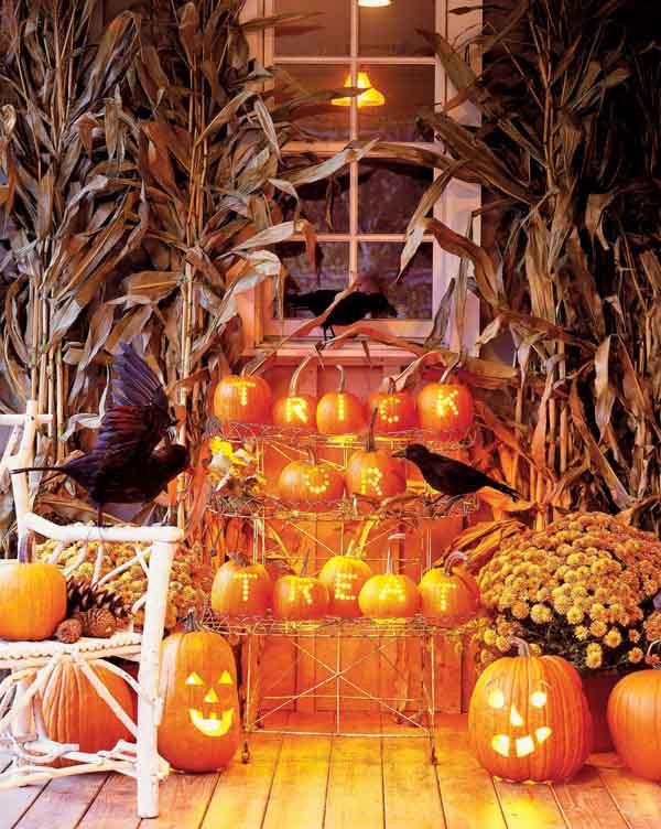 Ấn tượng những mẫu decal trang trí nhà ấn tượng ngày Halloween 16