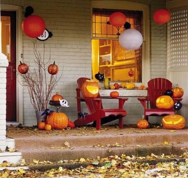 Ấn tượng những mẫu decal trang trí nhà ấn tượng ngày Halloween 18