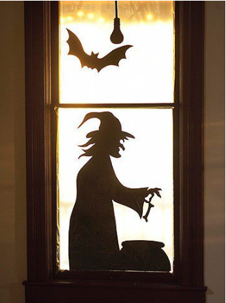 Gợi ý những mẫu decal dán tường trang trí Halloween 2