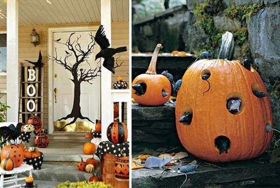 Trang trí quán cafe chào đón Halloween bằng decal dán tường độc đáo 1