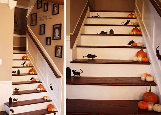 Mách bạn những ý tưởng cực hay ho cho lễ hội Halloween - Mẫu decal ấn tượng trang trí Halloween 6