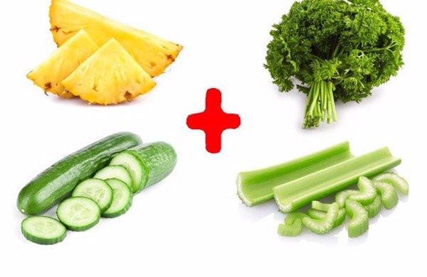 Combo sinh tố uống trước bữa ăn sáng để giảm mỡ bụng