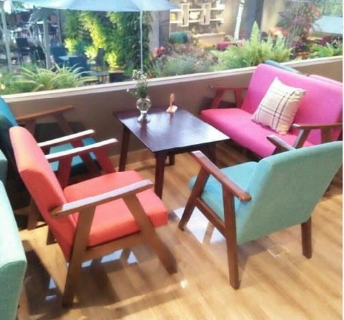 Cung cấp bộ bàn ghế sofa gỗ giá rẻ