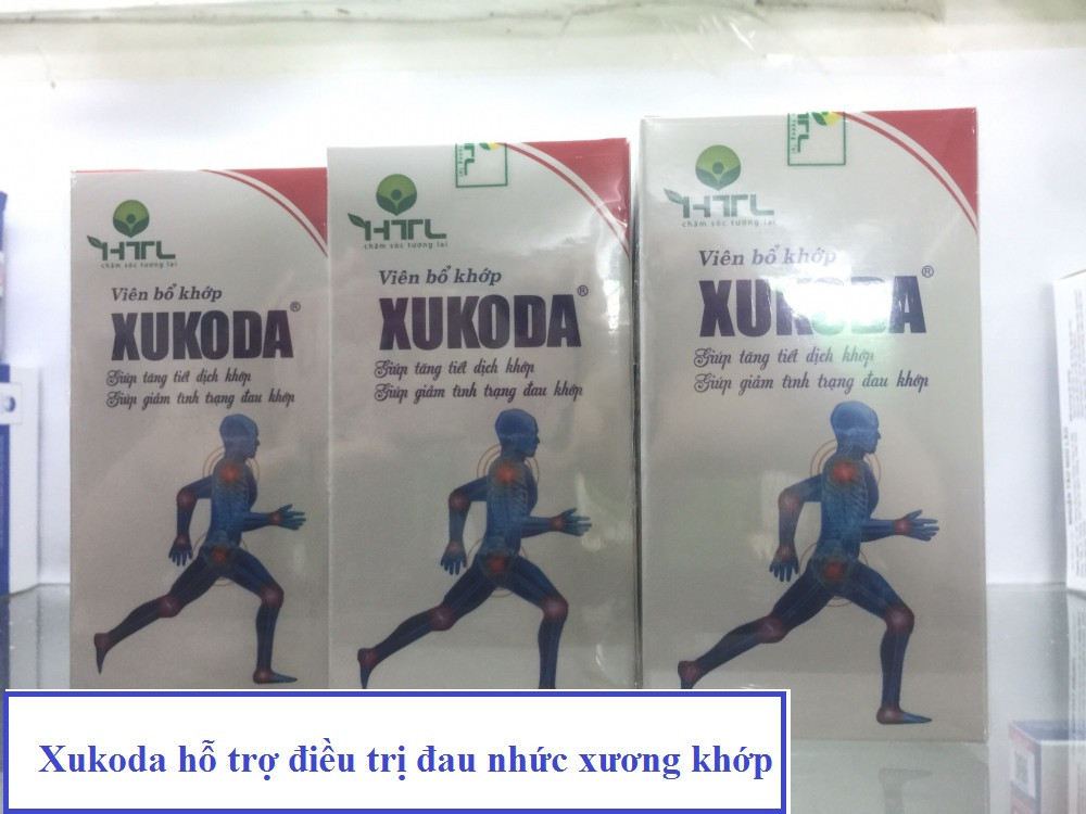 Xukoda hỗ trợ điều trị đau nhức xương khớp