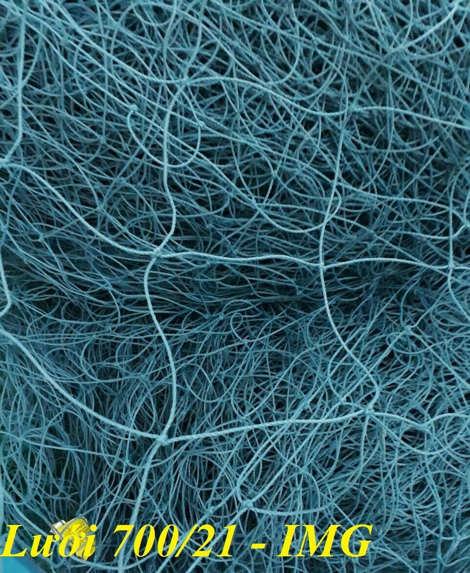 Lưới bao che sân bóng màu xanh nhạt loại 700/21