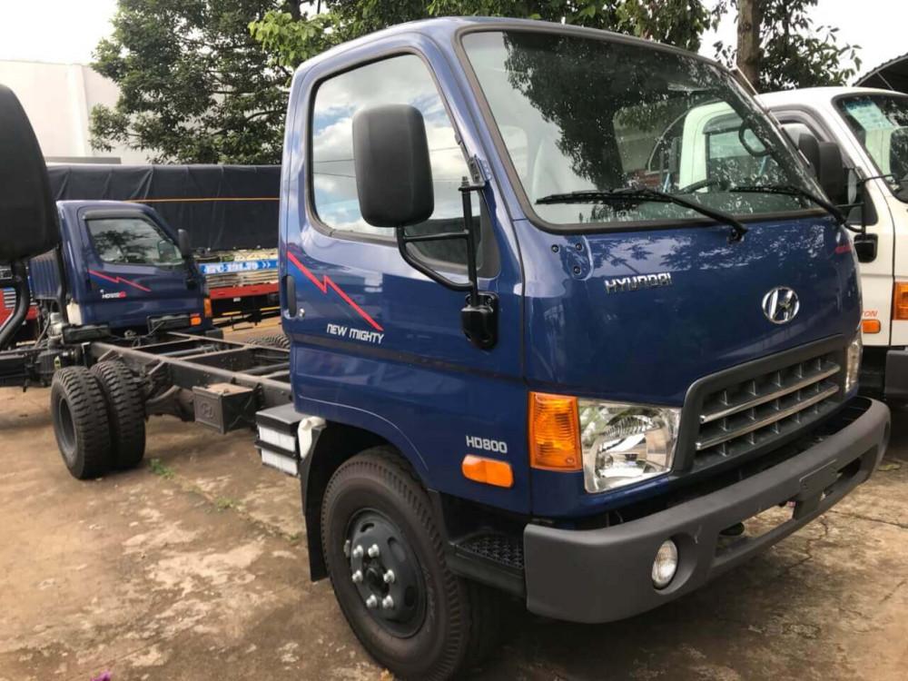 chasi xe tải Hyundai 8 tấn HD800