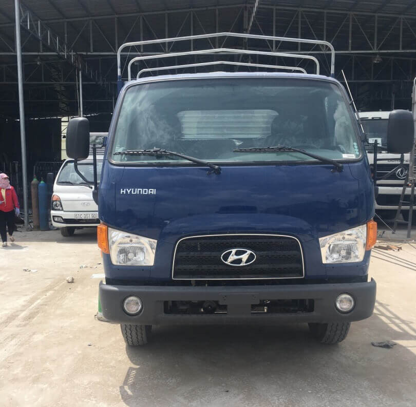 Ngoại Thất xe tải 7 tấn Hyundai 110s