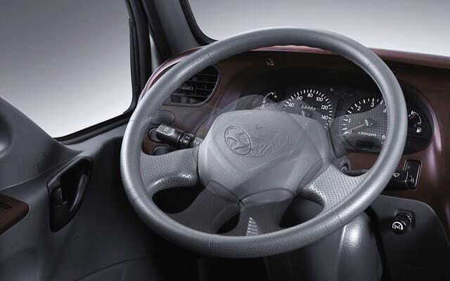 Nội thất xe Hyundai 7 tấn 110s