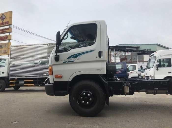 Khung sườn và cầu xe Tải Hyundai Mighty 110S