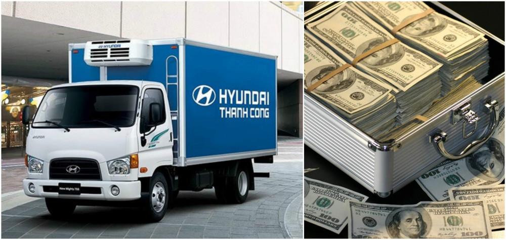 Mua trả góp xe tải 7 tấn Hyundai 110s