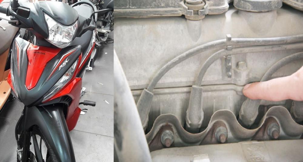 Cách nhận biết xe máy cũ đã bổ máy, làm hơi, làm máy