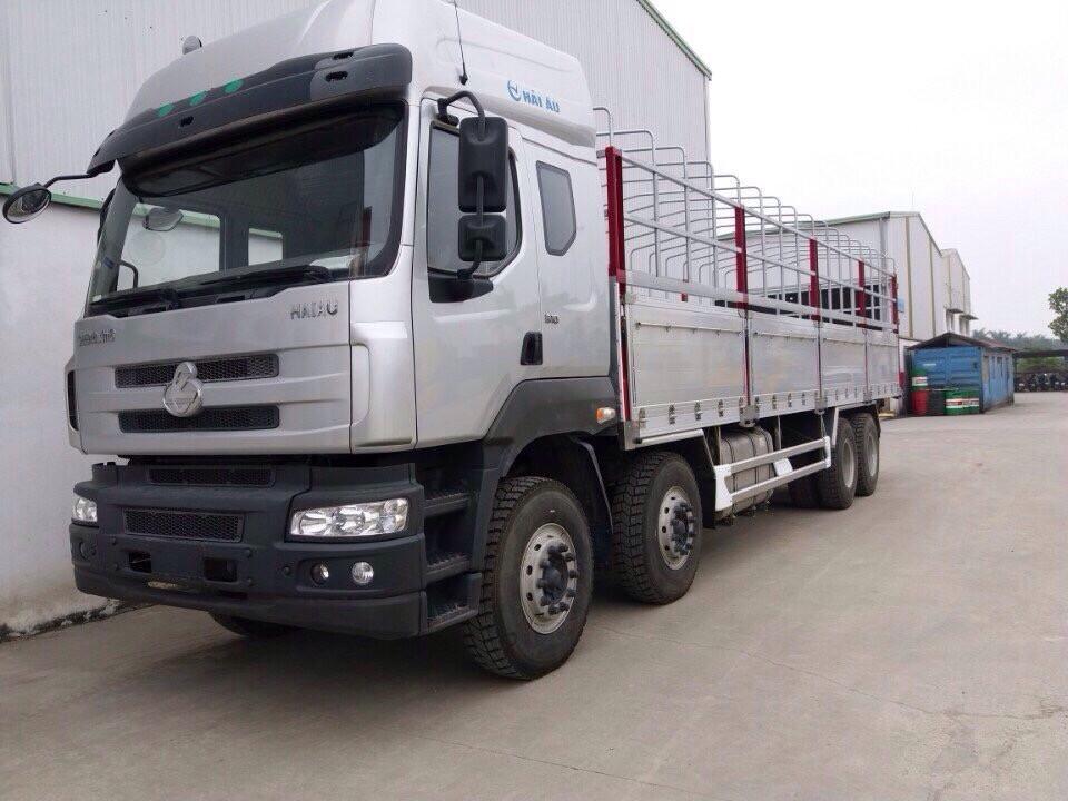 Giá xe tải Dongfeng 4 chân - 17.9 tấn - Thùng dài 9M4