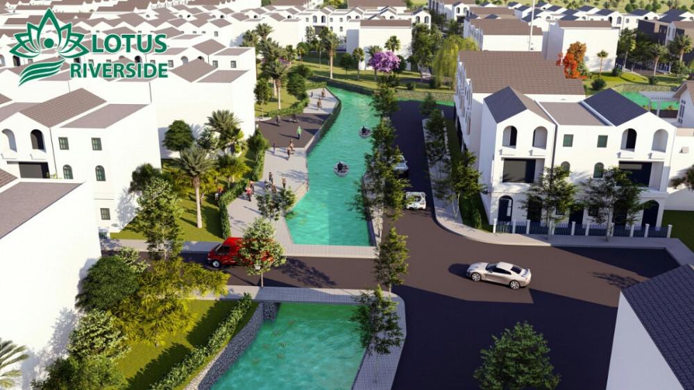 Dự án Lotus Riverside Long An: giá đất nền chỉ từ 300 triệu