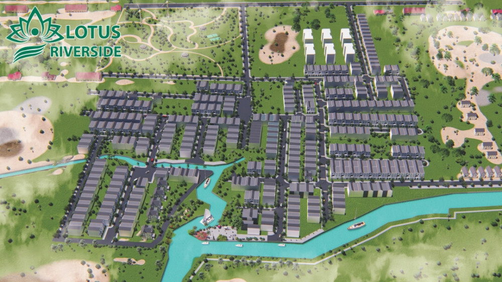 Lý do nên mua đất dự án Lotus Riverside Cần Đước Long An