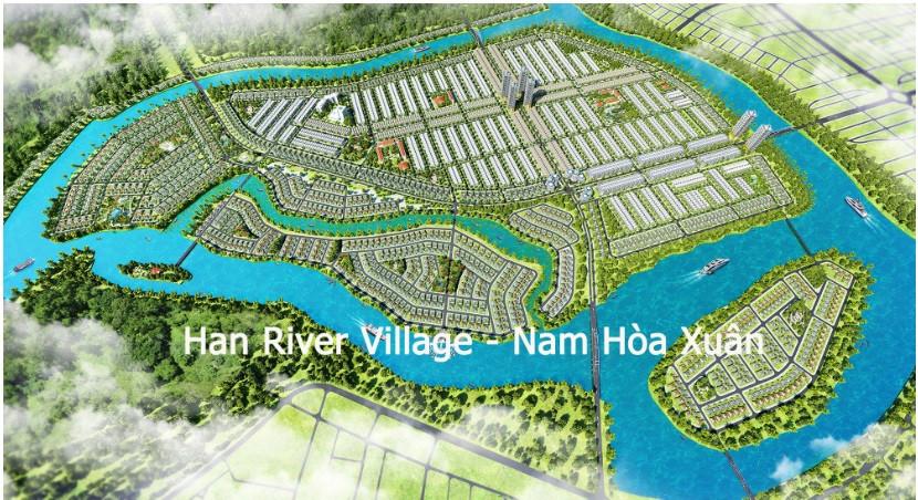 Bản đồ, khu vực và giá đất khu đô thị Nam Hòa Xuân Đà Nẵng