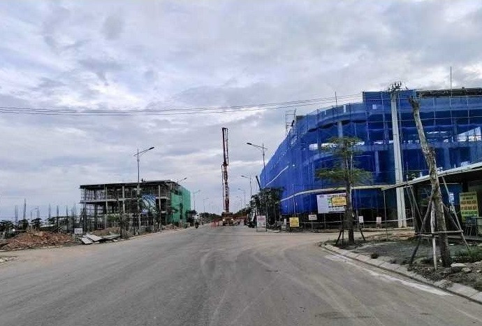 Tiến độ dự án đất nền khu đô thị Nam Hòa Xuân Đà Nẵng(2)