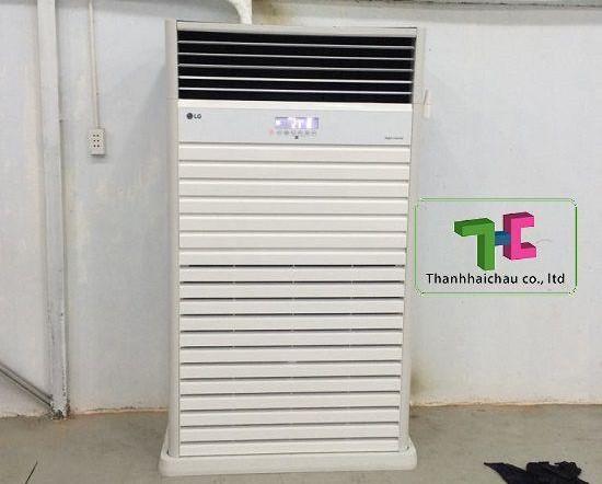 Bán máy lạnh tủ đứng LG APUQ100LFA0 inverter 10hp giá sỉ rẻ nhất cho thầu công trình toàn miền Nam