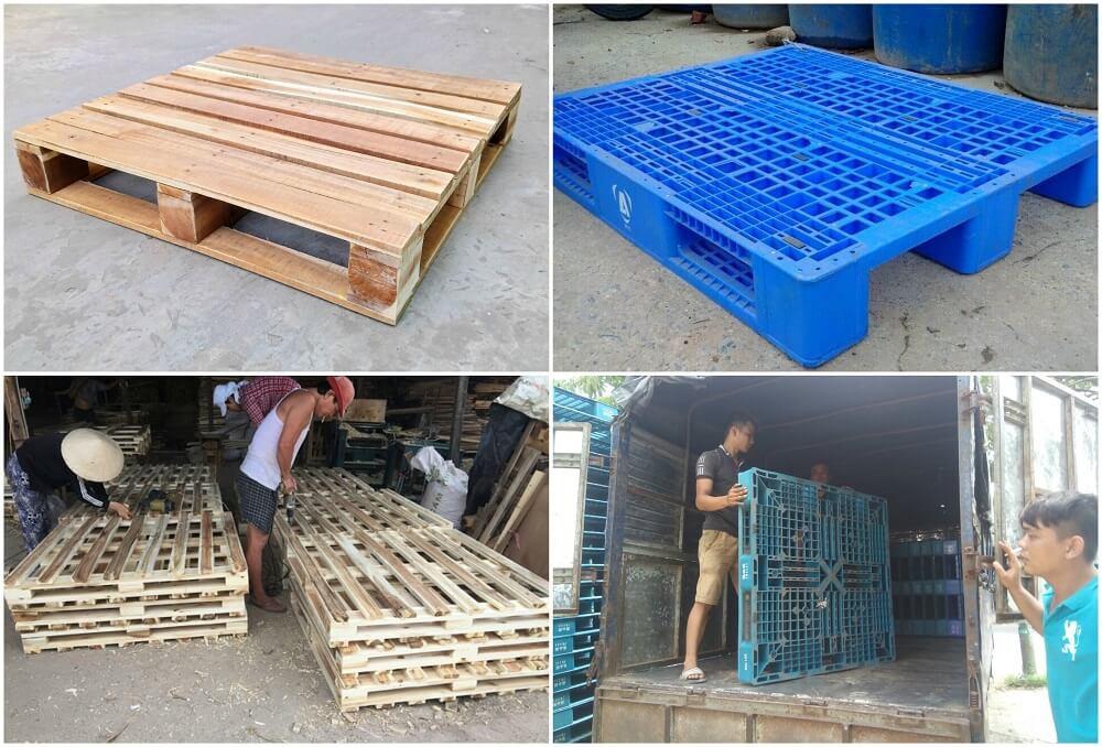 So sánh pallet nhựa và pallet gỗ: nên chọn pallet nào bảo quản hàng hóa tốt hơn?