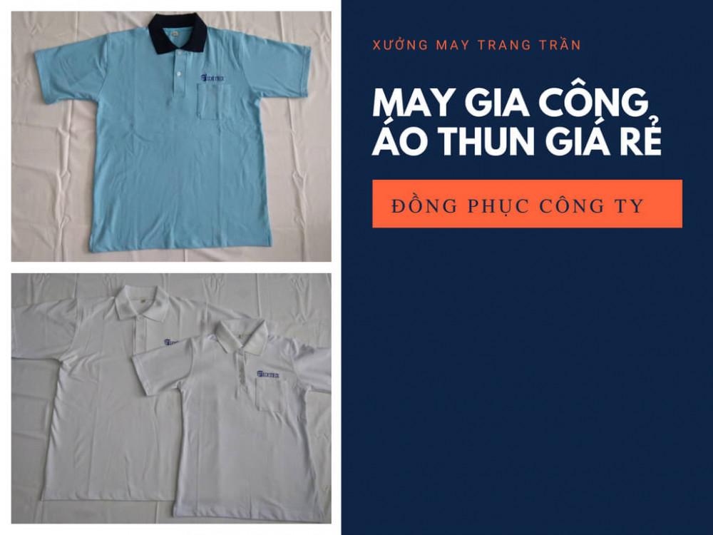 Nhận may áo thun giá rẻ TPHCM - Xưởng may Trang Trần