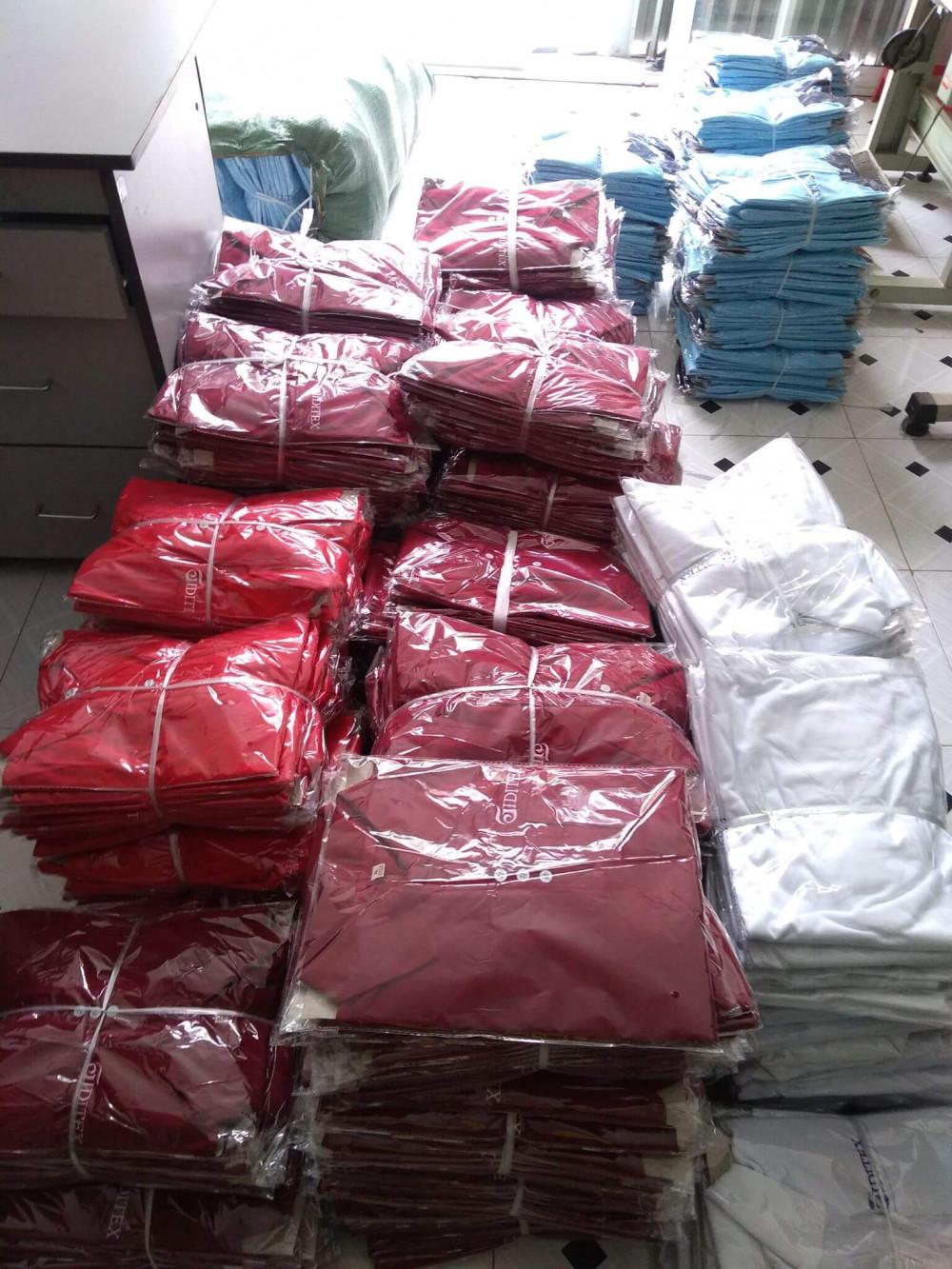 Công ty may Trang Trần - nhận đặt may áo thun đồng phục giá rẻ số lượng lớn với giá thành cạnh tranh