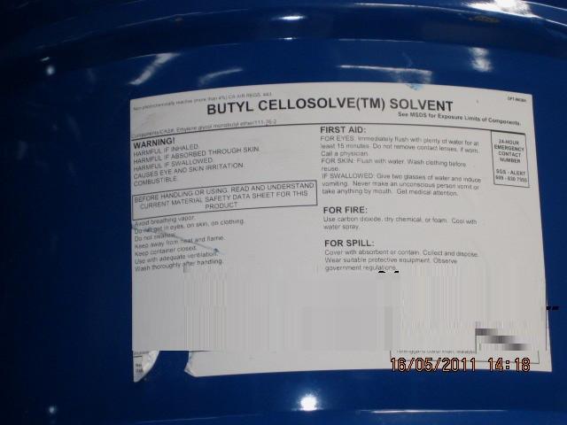 Công ty hóa chất - Cung cấp Butyl Cellosolve, Butyl Glycol, Glycol Ether (BCS) uy tín