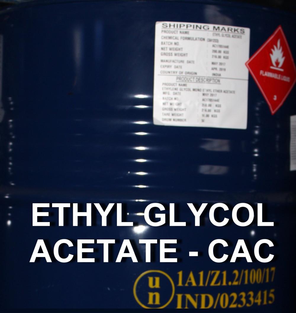 Kinh doanh hóa chất Cellosolve Acetate, Ethylene glycol mono ethyl acetate (EGMEEA),  Ethyl Glycol Acetate, CAC giá tốt