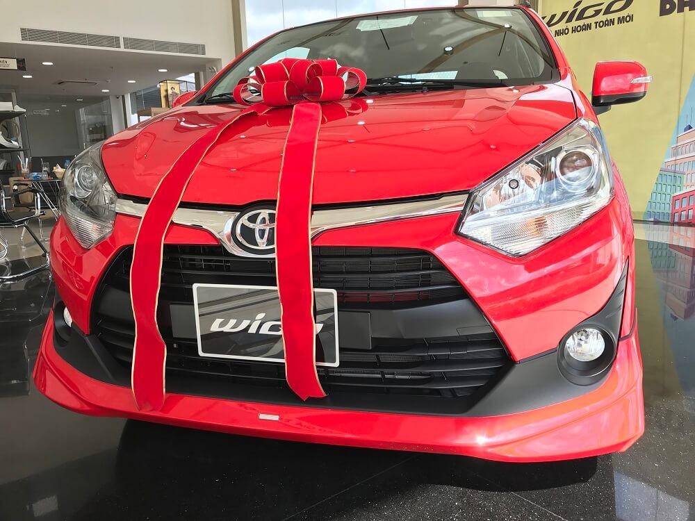 Thủ tục mua xe Toyota Wigo trả góp tại TPHCM