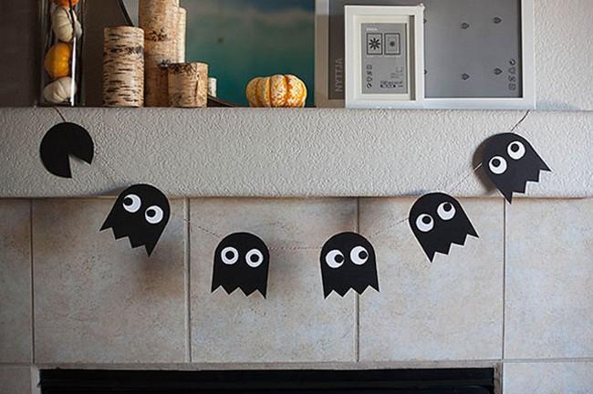 Trang trí Halloween trong tích tắc - Ý tưởng mẫu PP cán format trang trí Halloween cực đẹp 1