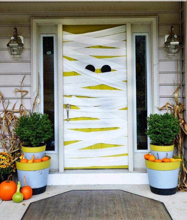 Trang trí Halloween trong tích tắc - Ý tưởng mẫu PP cán format trang trí Halloween cực đẹp 4