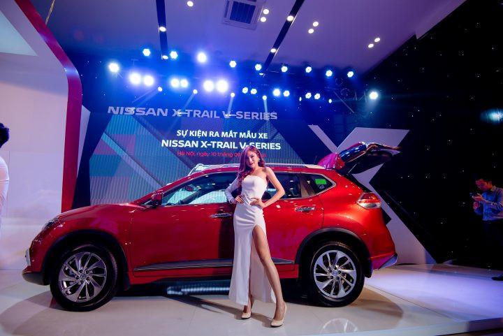 Nissan X-Trail V-series thiết kế dành riêng cho người Việt