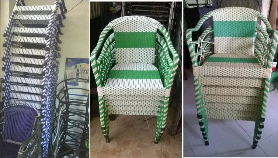Giá bán bàn ghế nhựa giả mây ngoài trời tại TPHCM(3)