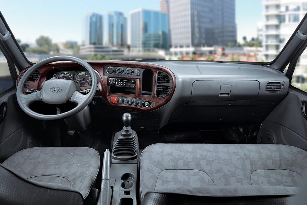 nội thất xe tải Hyundai Mighty 75S 3.5 Tấn