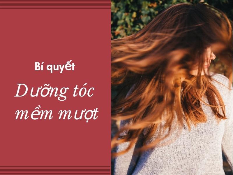 Bí quyết dưỡng tóc mềm mượt cho tóc uốn, duỗi, tạo kiểu