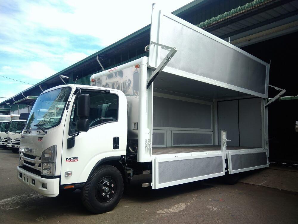 Địa chỉ bán xe tải Isuzu 5.5 tấn trả góp