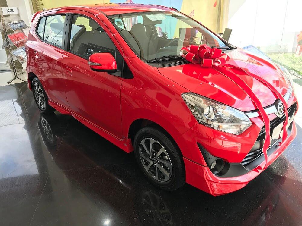 Toyota Wigo được nhập khẩu Indonesia