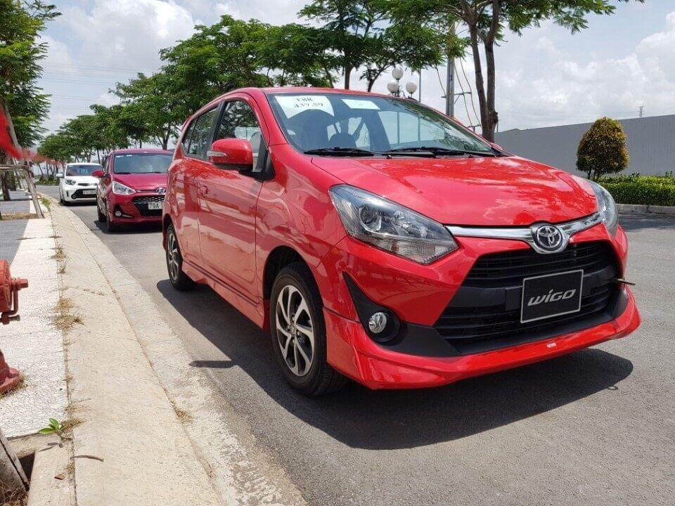 Giá xe Toyota Wigo phù hợp