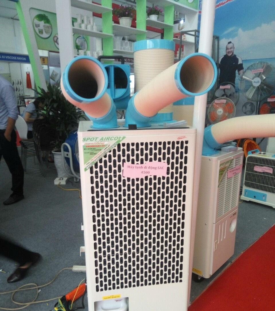 Máy điều hoà di động làm mát điểm nakatomi SAC-4500