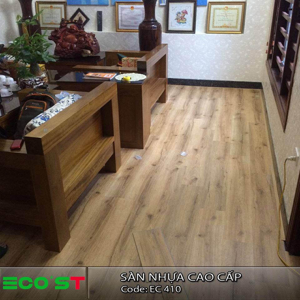 Sử dụng sàn nhựa ECO'ST SPC thay thế sàn truyền thống